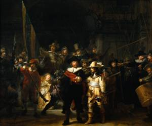 AKA: The Company of Captain Frans Banning Cocq and Lieutenant Willem van Ruytenhurch